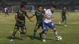 Skuat Persib Puas Pertahankan Puncak Klasemen Liga 1 2018