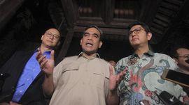 Sekjen 3 Partai Poros Prabowo Bertemu Perdana dengan Demokrat