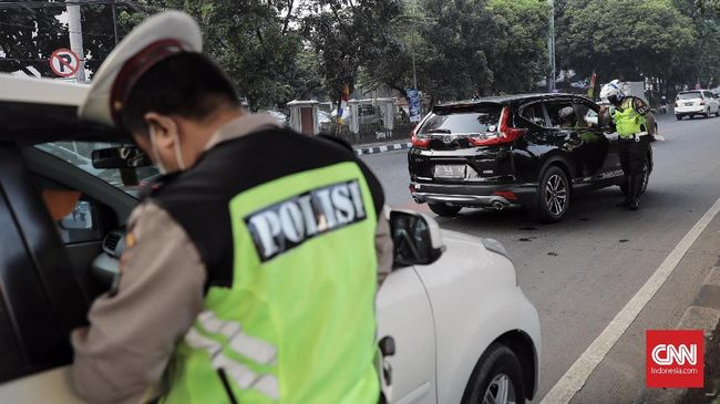 Polisi Akan Razia Kendaraan Penunggak Pajak di Jakarta