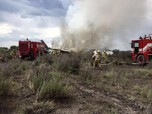 Pesawat Jatuh di Meksiko karena Cuaca Buruk, Puluhan Luka