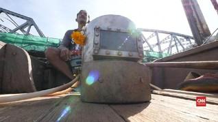VIDEO: Para 'Indiana Jones' Sungai Thailand