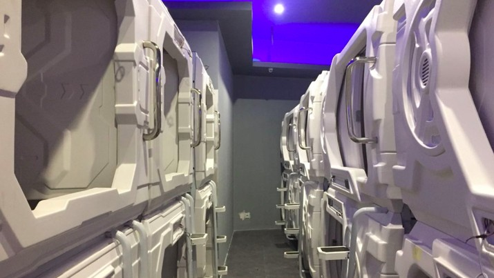 Pertama di Indonesia, Bandara Soetta Sediakan Hotel Kapsul