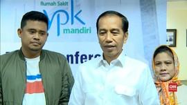 VIDEO: Rona Gembira Jokowi usai Kahiyang Ayu Melahirkan