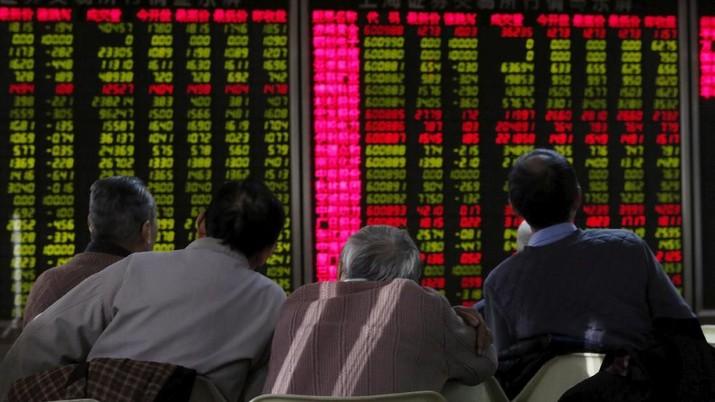 Selepas Melemah 0,71%, Indeks Shanghai Dibuka Naik Tipis