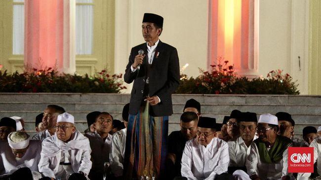 Jokowi Soal Tudingan Anti Islam Pencetus Hari Santri Siapa