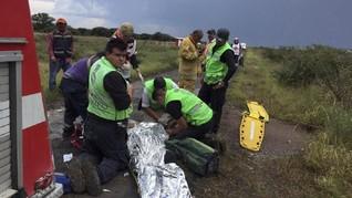 Pesawat Jatuh di Meksiko, 49 Penumpang Masih Dirawat