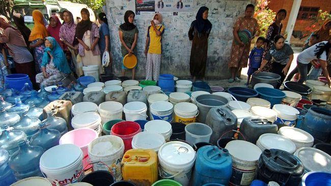 Warga Lereng Merapi di Boyolali Kesulitan Air Bersih