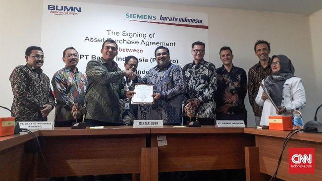 Barata Indonesia Akuisisi Pabrik Siemens Demi Omzet 20 Persen