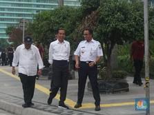 Mas Anies, Ini Lho Nasehat Pak Jokowi untuk Atasi Banjir DKI