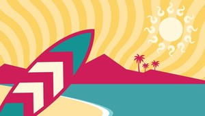 INFOGRAFIS: Fakta Menarik Pantai Cimaja