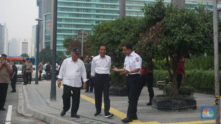 Sekretaris Dinas Sumber Daya Air DKI Jakarta Dudi Gardesi menyebut persoalan banjir di underpass Kemayoran berada di bawah kewenangan pemerintah pusat.