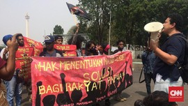 Seruan Pembebasan Papua Barat Menggema di Seberang Istana