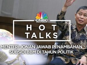 Jonan Bicara Soal Subsidi BBM di Tahun Politik
