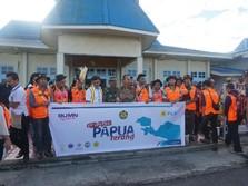 Ratusan Relawan Terjun ke Pelosok Demi Terangi Papua