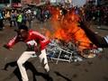 Demonstrasi Tolak Kenaikan Harga BBM di Zimbabwe Rusuh