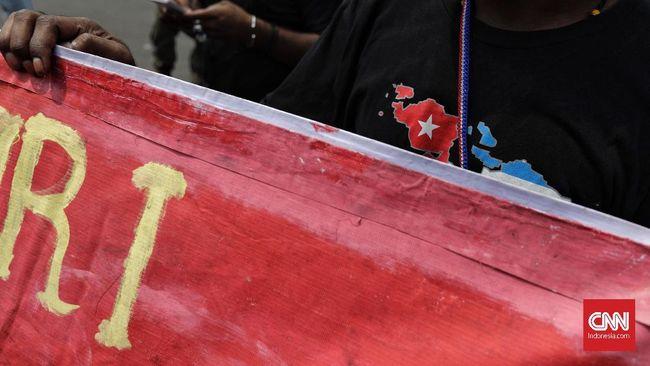 Aparat Adang Demo Aktivis Peringati Papua Merdeka