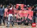 Massa 'Relawan NKRI' Ganggu Aksi Pembebasan Papua Barat