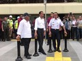 VIDEO: Jokowi Jajal Pelican Crossing Bundaran HI