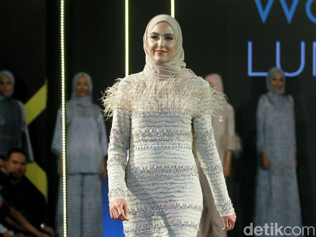 10 Koleksi Busana Terbaru Khanaan Salman Terinspirasi dari Arsitektur Islam