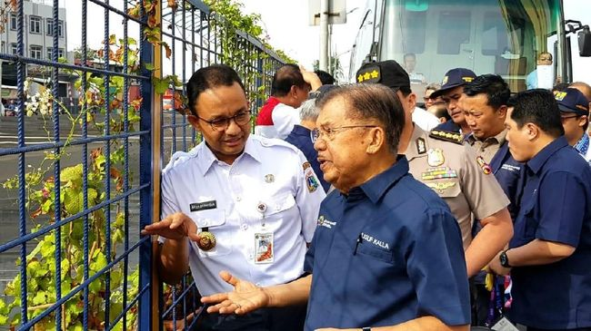 JK Nasehati Anies Kesalahan Pembangunan LRT Jangan Terulang