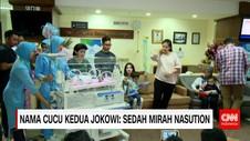 Nama Cucu Kedua Presiden Jokowi: Sedah Mirah Nasution