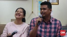 Kemesraan Kahiyang Ayu-Bobby Nasution saat Umumkan Nama Anak