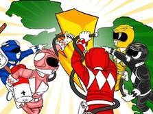 'Power Rangers' dan Perjuangan Demi Papua Terang