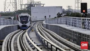 Angka Pengguna LRT Palembang Hanya Capai 22 Persen