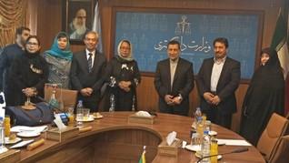 Indonesia-Iran Tingkatkan Kerja Sama Pemberdayaan Perempuan