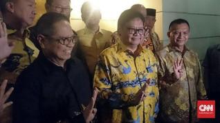 Airlangga dan Elite Golkar Sambangi Rumah SBY Malam Ini