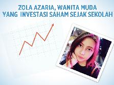 Wanita Muda Berani Investasi Saham Sejak SMA
