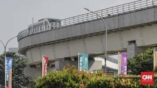 Pengelola LRT Pastikan Pemadaman Jalan Berakhir Hari Ini