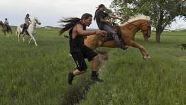 FOTO: Peringatan ke-150 Perjanjian Perdamaian Fort Laram