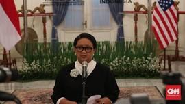 Menlu RI: Tak Ada Perang Dagang AS-Indonesia