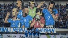 Babak Pertama: Persib vs Arema FC Masih Imbang
