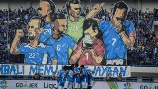 Klasemen Sementara Liga 1 Usai Persib Kalahkan Sriwijaya FC