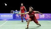 Awalnya Greysia Polii/Apriyani Rahayu merupakan satu-satunya wakil Indonesia yang tersisa di Kejuaraan Dunia Bulutangkis 2018. Di turnamen ini Indonesia menargetkan satu gelar. (Dok. PBSI)