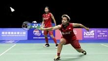 Tim Bulutangkis Beregu Putri Indonesia ke Perempat Final