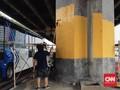 Peserta Lomba Mural Asian Games Keluhkan Cat dan Tembok