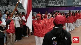 Kontingen Indonesia untuk Asian Games 2018 Resmi Dikukuhkan