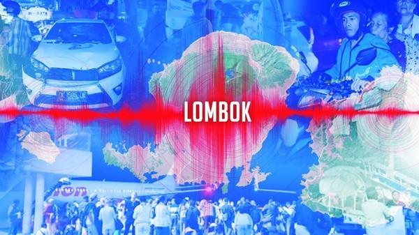 Gempa Lombok 6,9 SR