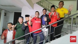 Partai Pendukung Jokowi Deklarasikan Koalisi Indonesia Kerja