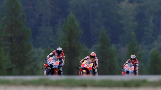 Kalahkan Dovizioso, Marquez Raih Pole Position MotoGP Austria