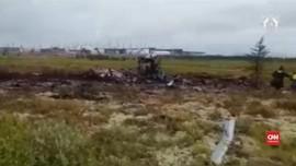 VIDEO: Belasan Tewas Akibat Kecelakaan Helikopter di Siberia