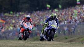 Rossi Suarakan Kekecewaan Terhadap Motor Yamaha di MotoGP