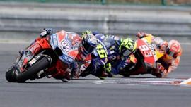 Rossi Menjauh dari Podium di Paruh Kedua MotoGP 2018