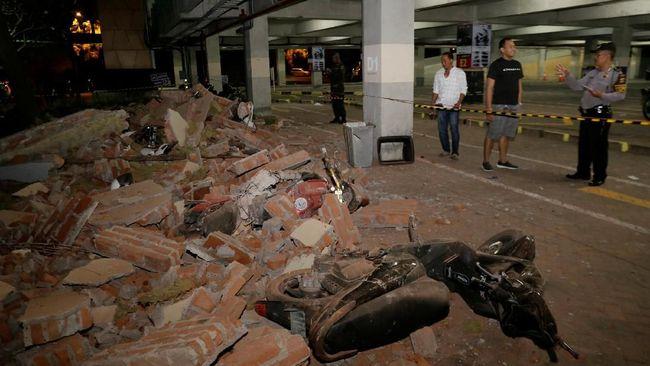 BMKG: 100 Gempa Susulan Goyang NTB Pasca Gempa 7 SR