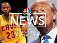 Sindiran Trump ke King James Bangkitkan Rasa Persaudaraan NBA