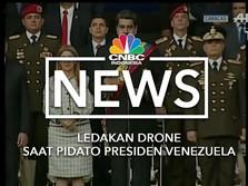 Detik-detik Serangan Bom Drone ke Presiden Venezuela