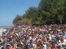 Usai Gempa, Ribuan Turis Menumpuk untuk Evakuasi dari Lombok